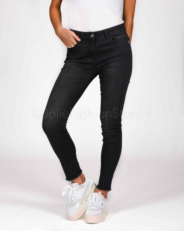 Patrizia Pepe Pantaloni Black Jeg  CJ0509-K394