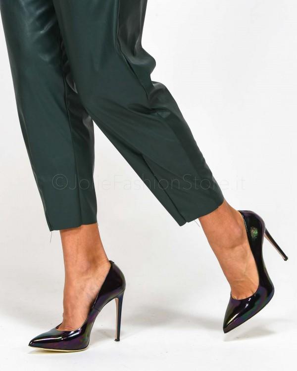 Patrizia Pepe Jeans Modello Chinos con Bande Laterali 8J0780 A3KJ