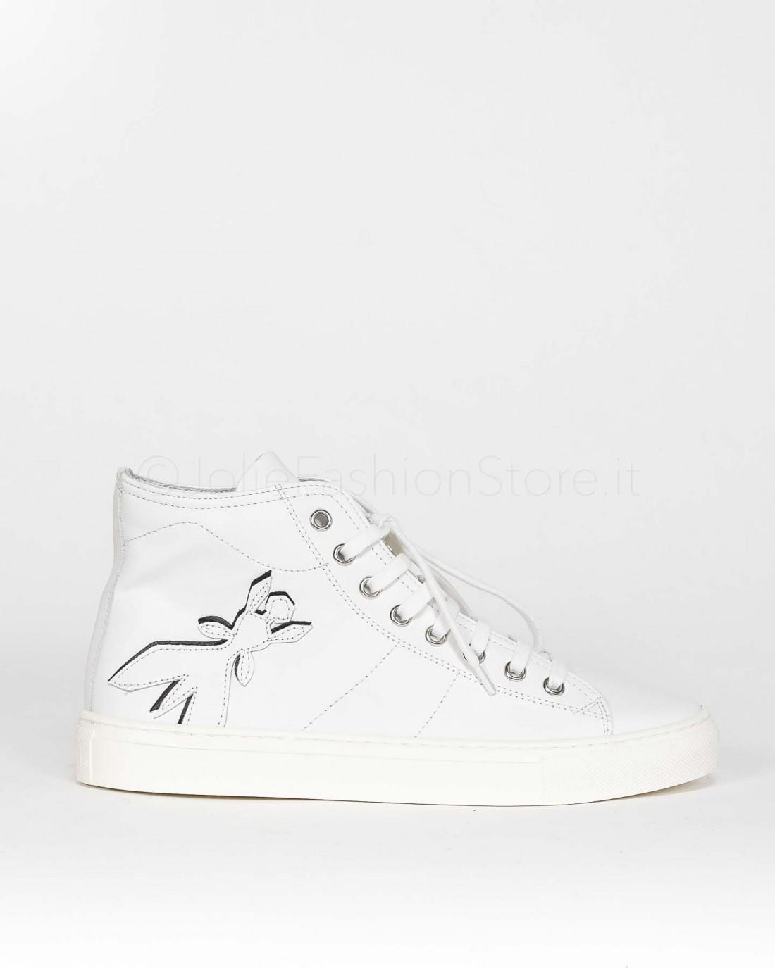 Patrizia Pepe Sneakers Bianche Alte  2VA259A3KW-W146