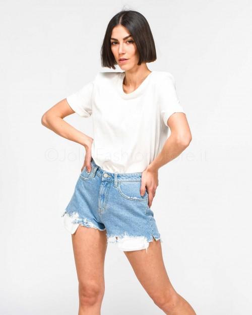 Solo Tre T-Shirt Basic Bianca