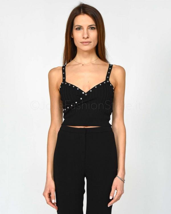 Gina Gorgeous T-Shirt Vestibilità Over con Stampa Logo GI190720