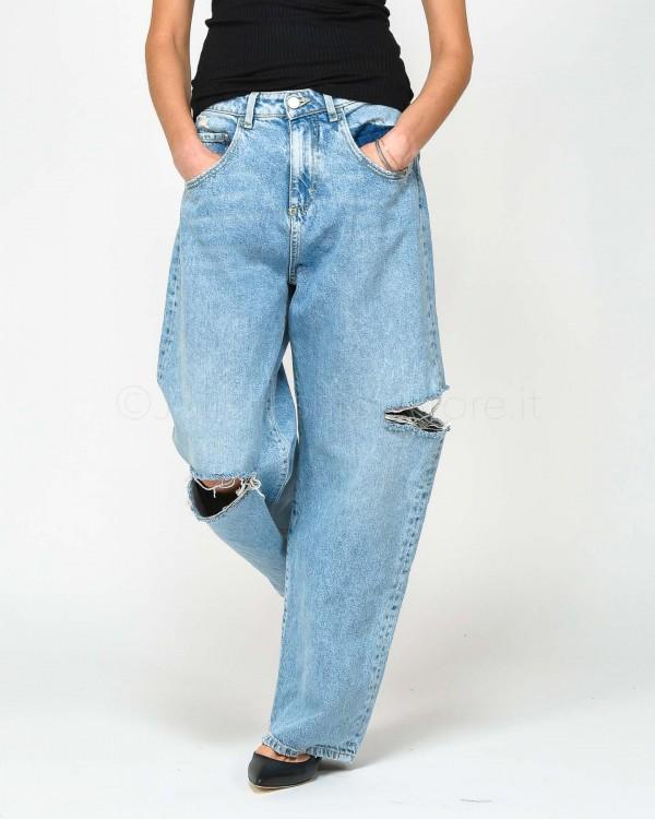 Patrizia Pepe Jeans Cammello a Vita Alta 2J2213