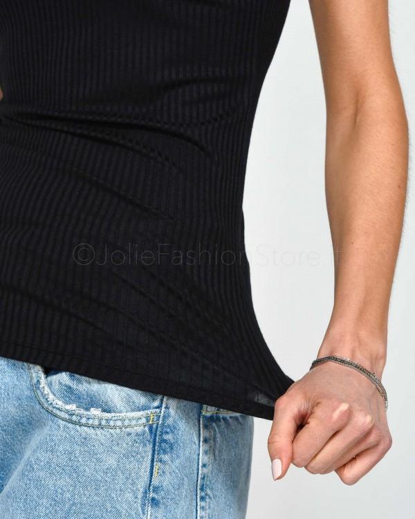 Pinko T-Shirt con Applicazioni Strass NIVES T-SHIRT 1B13TN-ZE91