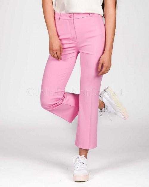 Pinko Pantalone in Punto di Stoffa Rosa