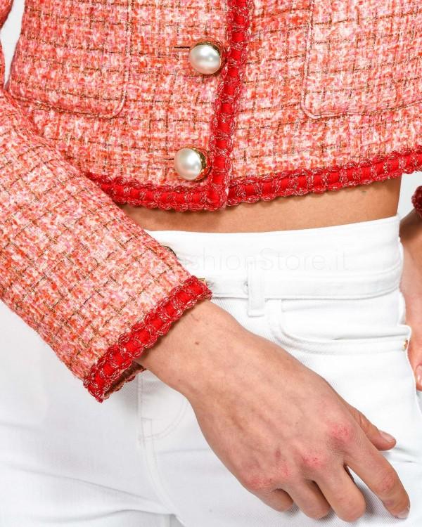 Patrizia Pepe Shorts in Jeans con Cinturina 2J2178