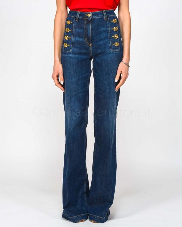 Care Label Jeans Skinny alla Caviglia con Spacchetto Cigar Crop 127