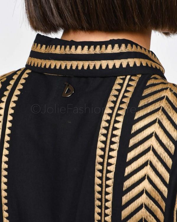 Dixie Camicia con Inserti Sangallo C340L101