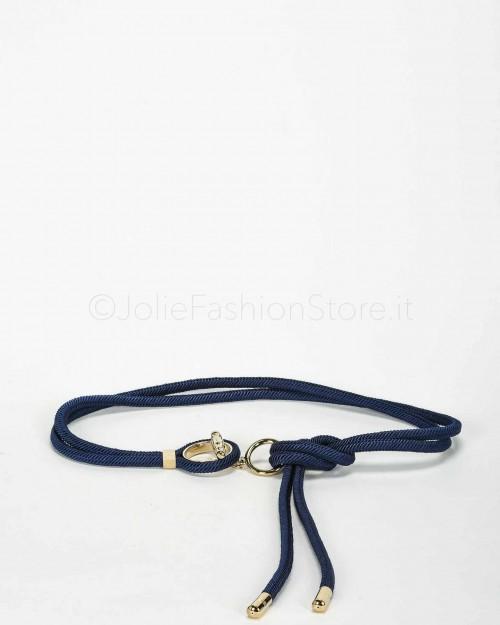 Elisabetta Franchi Cintura con Corda Blu