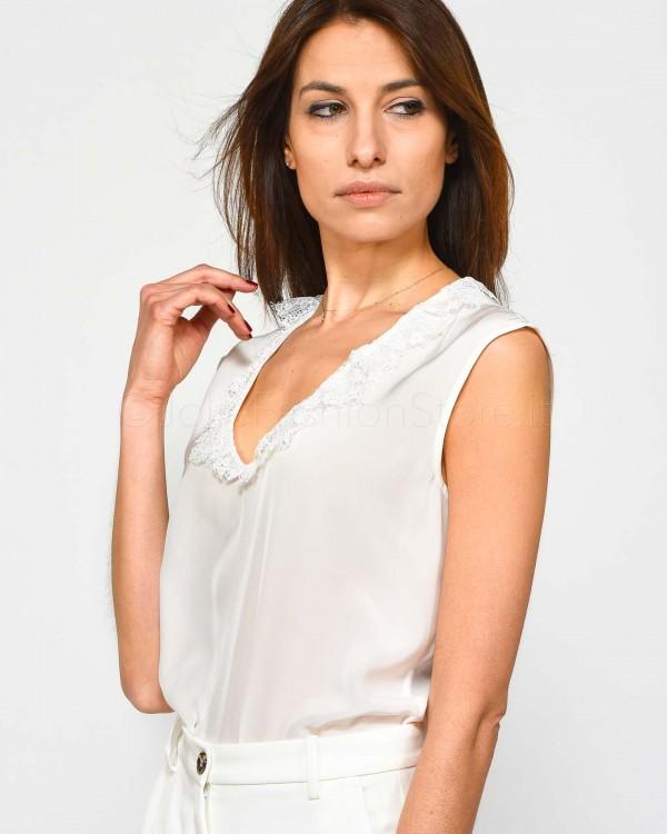 Elisabetta Franchi Body con Stampa Animalier CB05993E2