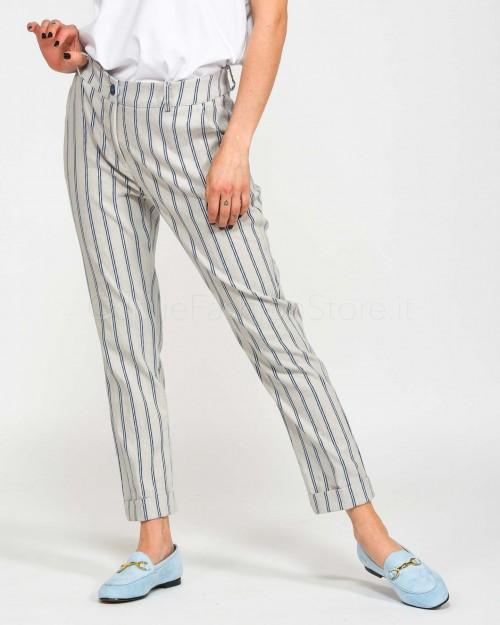 Background Pantalone Maschile Righe Blu