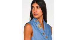 Love Moschino Maglia con Scritta Logo W S G62 10 X 0377