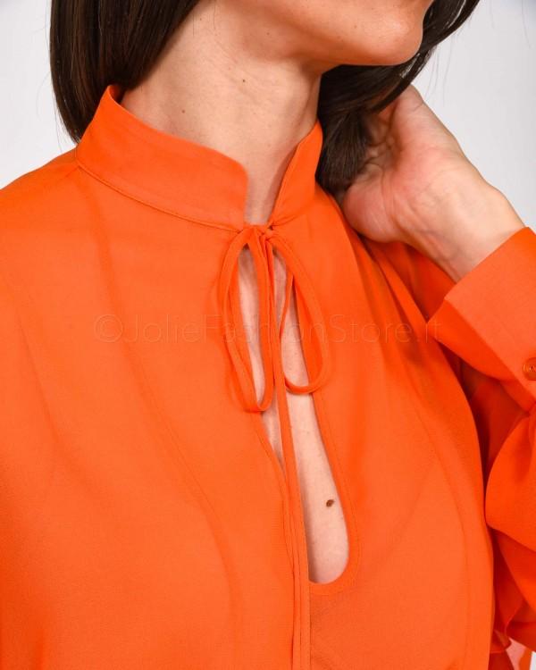 Love Moschino T-Shirt con Scritta Logo Glitterata W 4 B19 4V E 2065