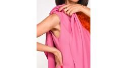 Love Moschino T-Shirt Oversize Grigia W 4 F87 21 M 3517