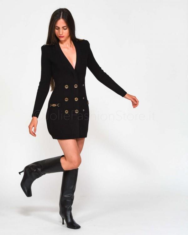 Patrizia Pepe Borsa Shopping Trasparente Rosa 2V9046