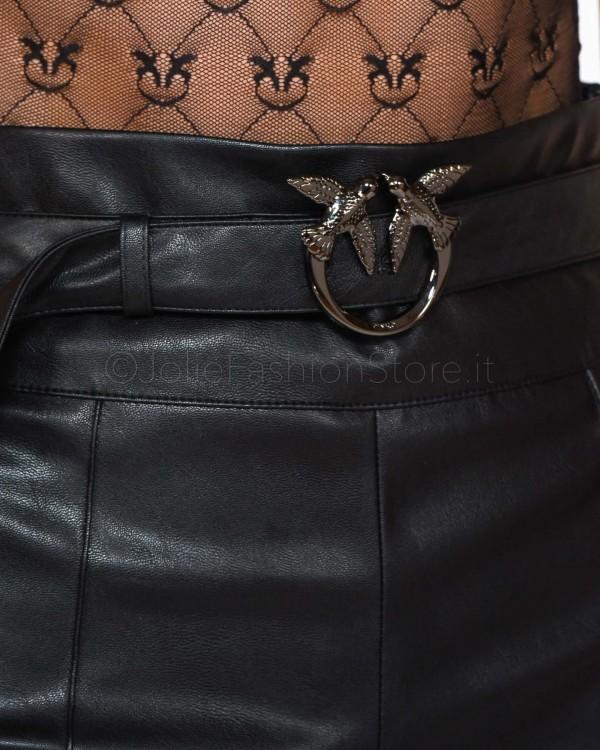 Patrizia Pepe Cintura in Pelle Cuoio 3 Cm 2V8684