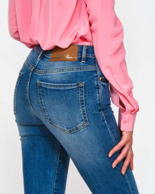 Pinko Jeans Denim Blu-Porcellana Delf  1J10Q6-Y78M-G14