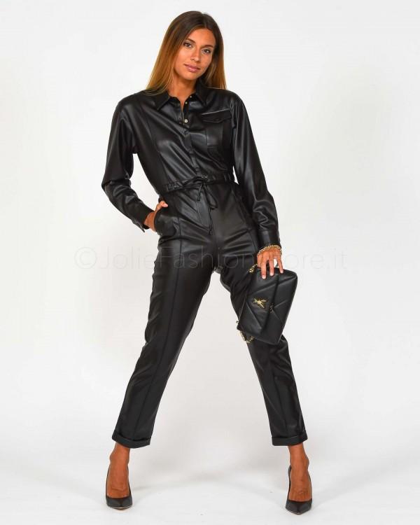 Elisabetta Franchi Giacca in Figura Blu GI15596E2-805