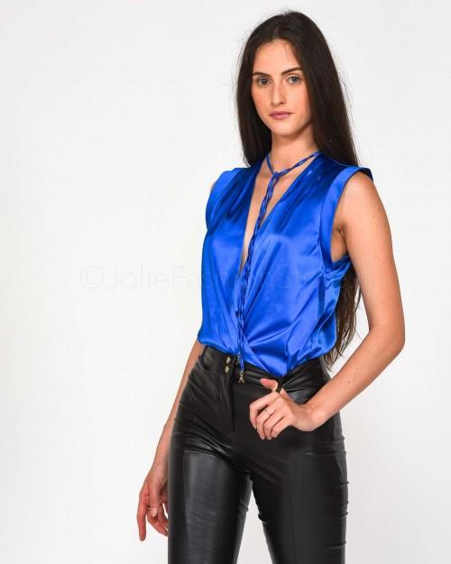 Patrizia Pepe Camicia Bright Blue