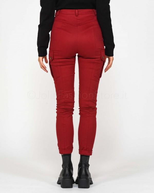 Elisabetta Franchi Jeans Skinny con Catena PJ46D96E2-192