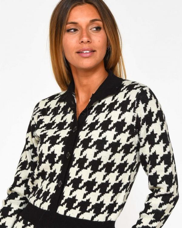 Elisabetta Franchi Pantalone a Vita Alta con Logo Laterale PA32096E2-V85