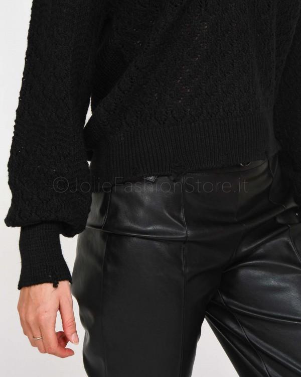 Nira Rubens Sneakers in Pelle Bianca con Cuore Rosso DACU172
