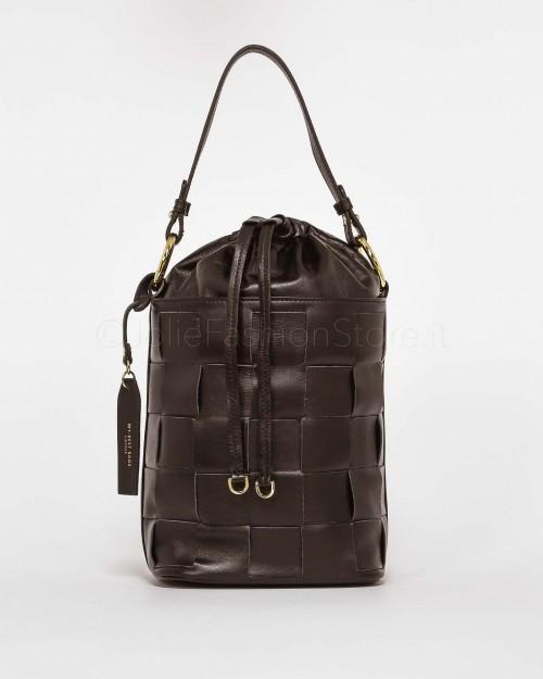 My Best Bags Secchiello in Pelle Nero
