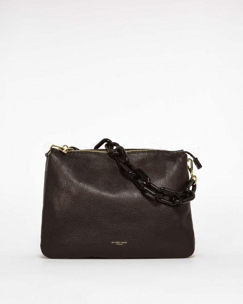 My Best Bags Borsa Pochette con Catena Nero
