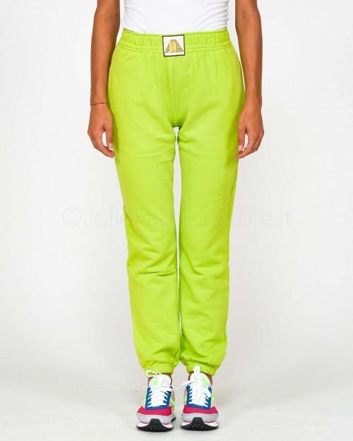 Aniye By Pantalone in Felpa Lime