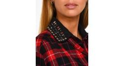 Elisabetta Franchi Maglione in Tricot Collo Alto Avorio MK56S96E2-360
