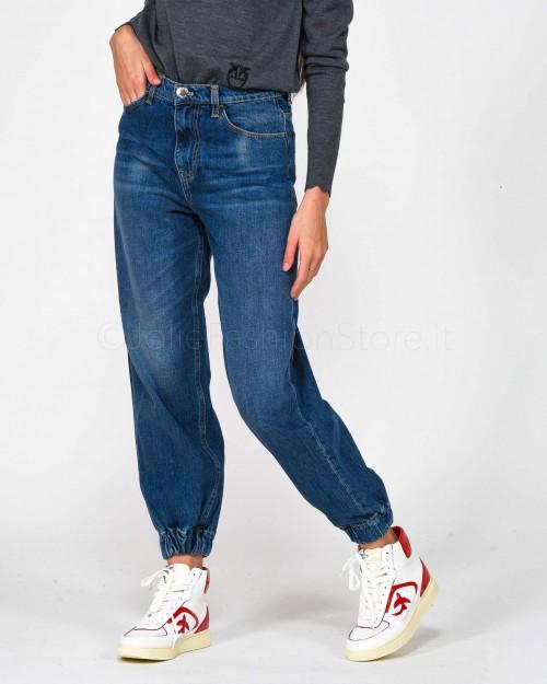 Pinko Jeans Jogger con Elastico alla Caviglia
