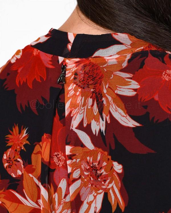 Patrizia Pepe Camicia Bianca con Trasparenza 2M3817/ W146