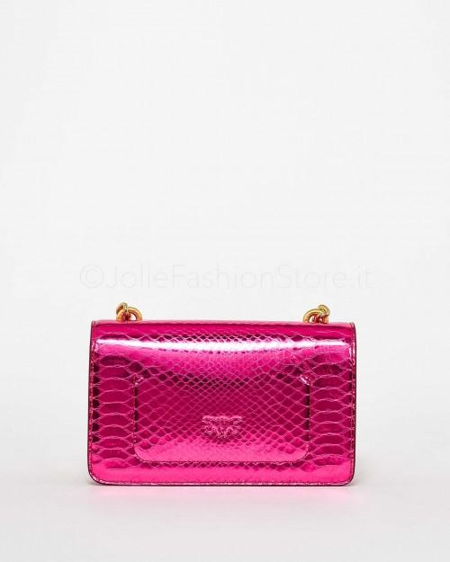 Pinko Love Classic Puff Pinched Fuxia  1P22CX-Y7GB-W87