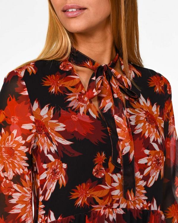 Love Moschino T-Shirt con Stampa Bianca W 4 B19 4W E 2065 A00-BIANCO