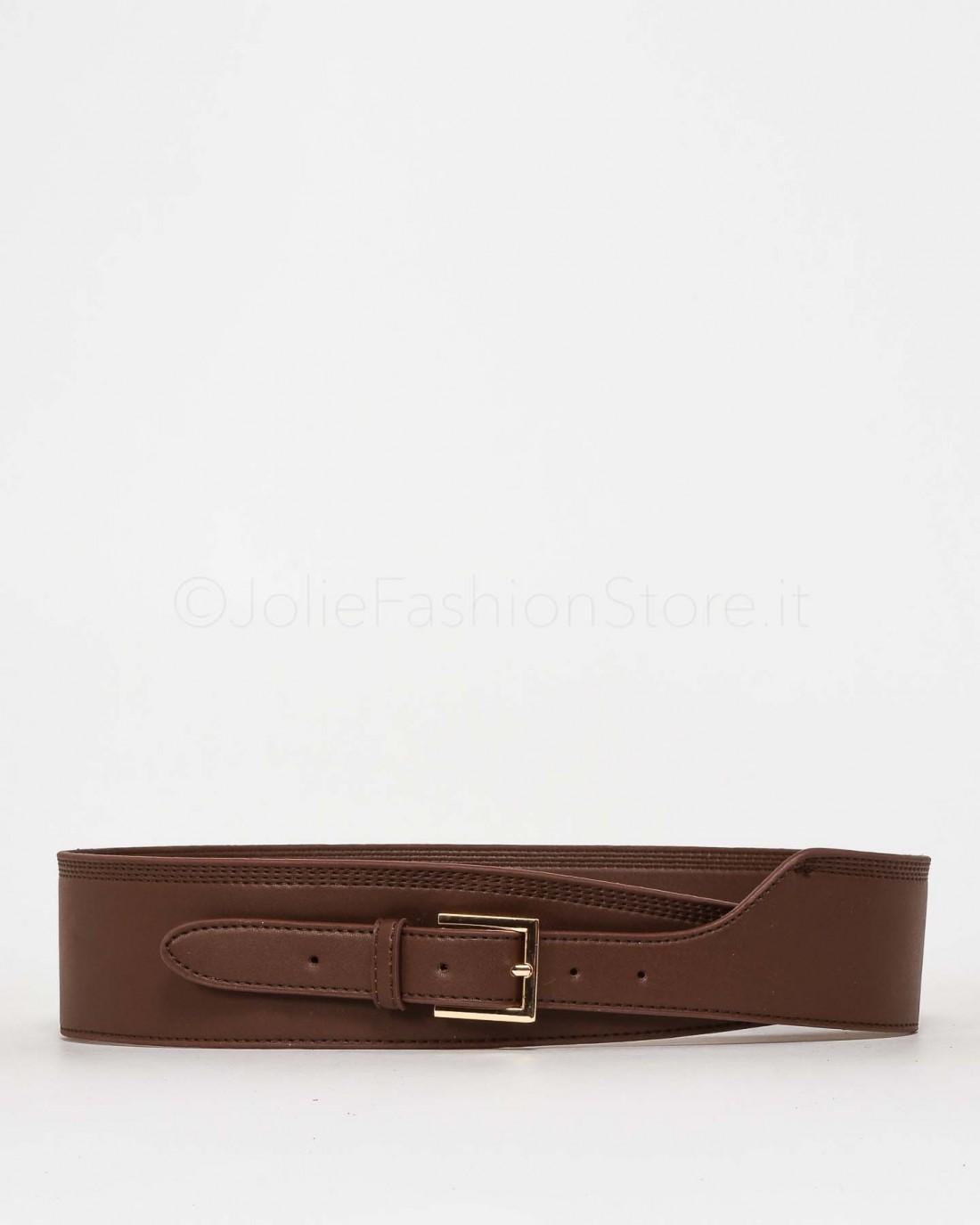 Anonyme Cintura Vita Alta Marrone  P201FX172 MARRONE