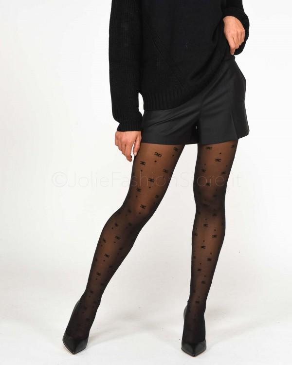 Elisabetta Franchi Pantalone a Sigaretta Stretch Fuxia PA32296E2-FUXIA