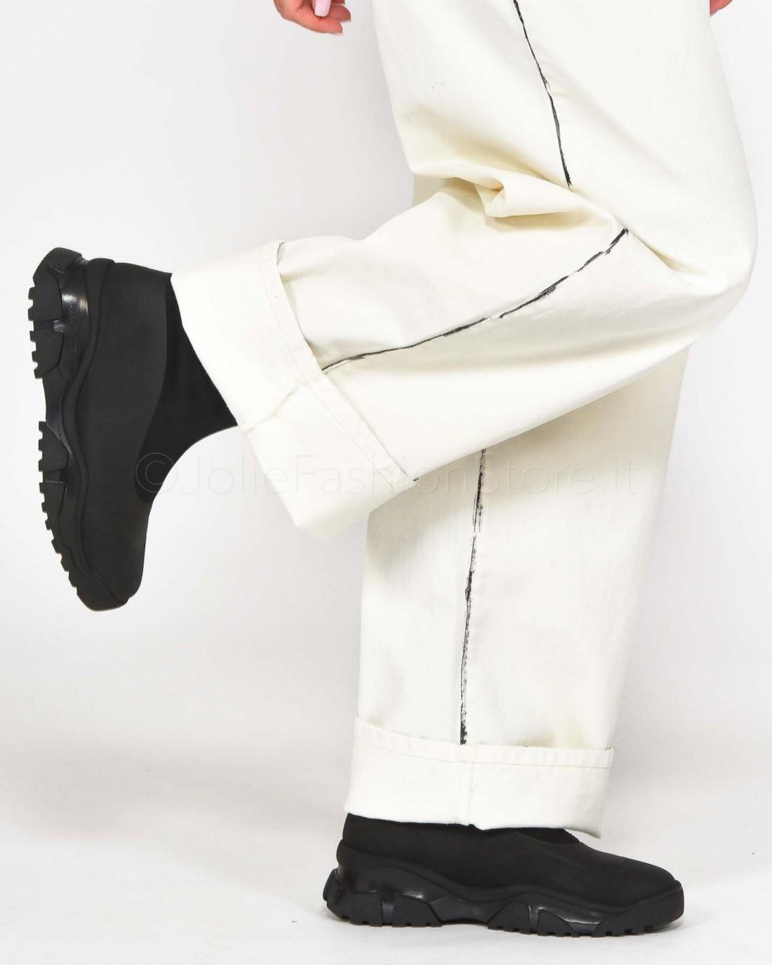migliori offerte su stile popolare scarpe da ginnastica Patrizia Pepe Cintura a Vita Alta in Pelle Avorio - Cinture