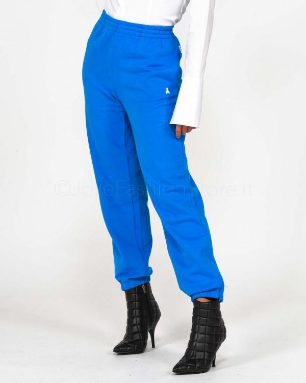 Patrizia Pepe Pantalone in Felpa Bluette  1P2079/A01G/C888