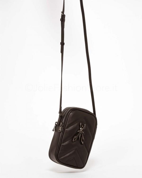 Dixie Pantalone a Vita Alta con Cintura Nero P212M048-NERO