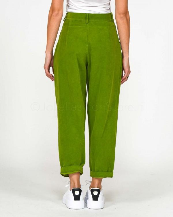 Pinko Pantalone in Ecopelle Nero 1B143U-7062
