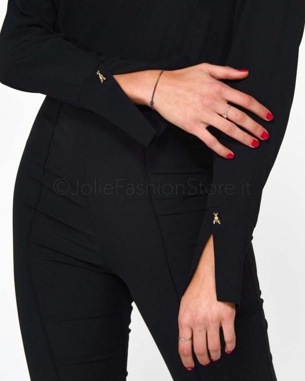 Alessandra Chamonix Cardigan Shima Zebrato Marrone e Beige SHIMA TIGER-BROWN/BEIGE