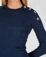 (O)ff-Fear Jeans Bianco Con Strappi VIDA COLOR