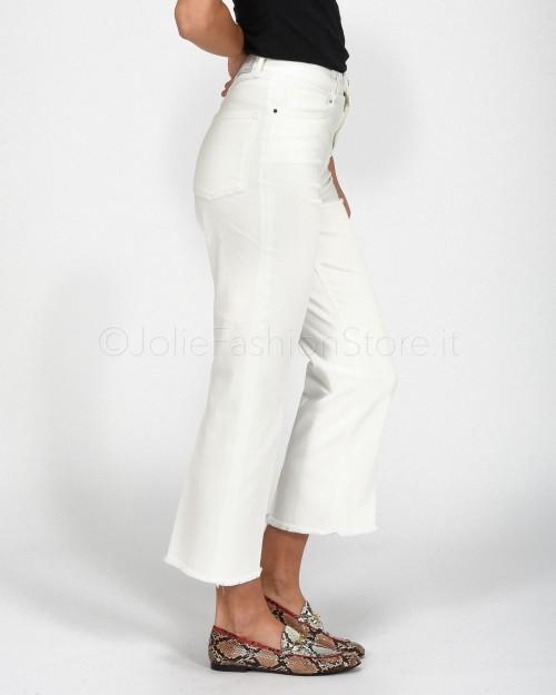 Pinko Jeans Sfrangiato Bianco  1J10D0-Z05