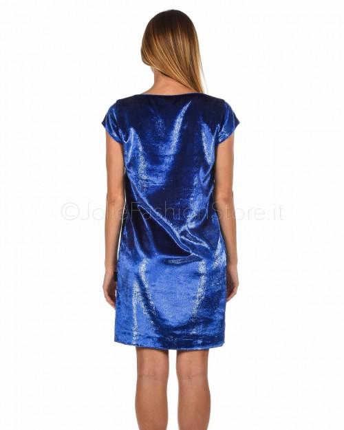 Love Moschino Abito Smanicato Blu Elettrico  W V H52 80 T 9814