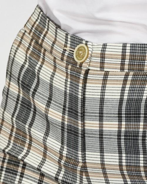 Patrizia Pepe Pantaloni in Principe di Galles a Sigaretta  1P2040-F3Y5