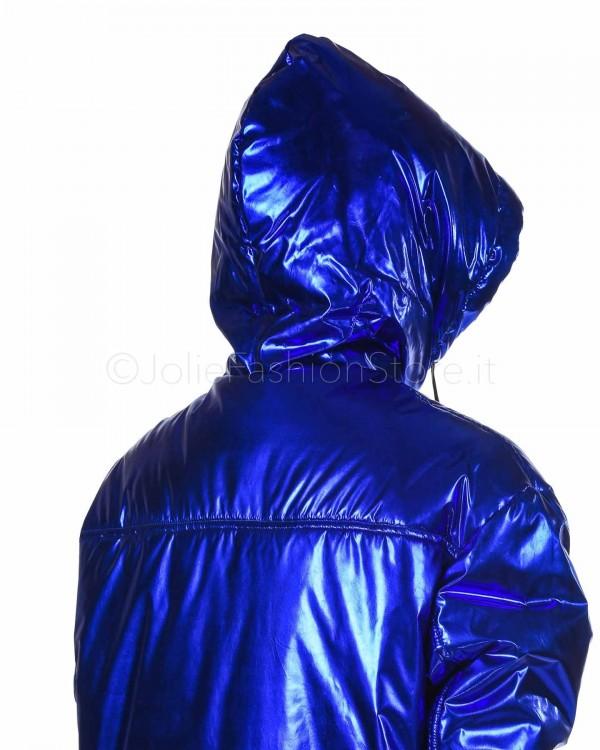 Patrizia Pepe Cardigan Blu in Lana 8M0553