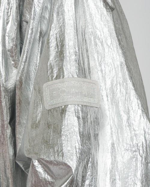 Pinko Impermeabile Argento  1C0172-I17
