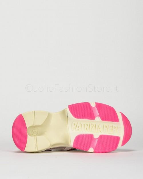 "Patrizia Pepe Sneakers ""Spicy Pepe Trekker"" Fucsia  2V9428-G488"