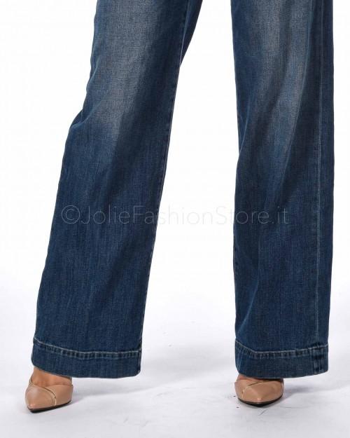 Care Label Jeans a Zampa  LIZA 550