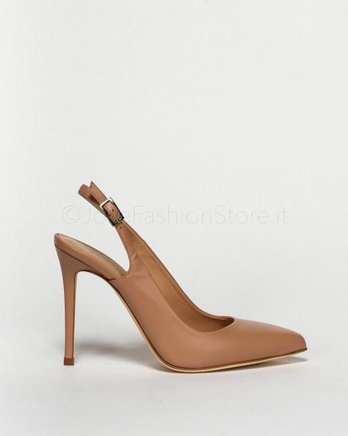 Sergio Levantesi Scarpa Chanel Nude