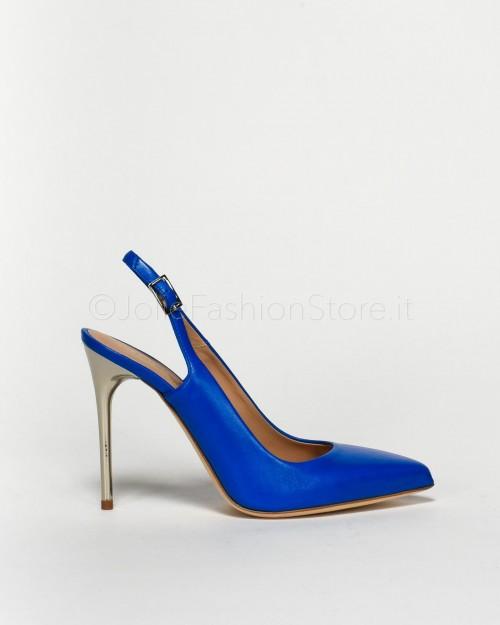Sergio Levantesi Scarpa Chanel Bluette